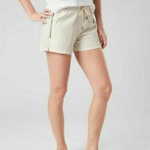 ATHLETA Farallon Casual Beige Loungewear Shorts 8